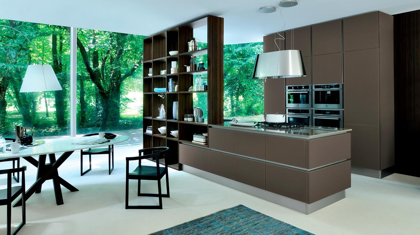 Veneta Cucine - Kitchens - Essence - Marrone Oliva 526