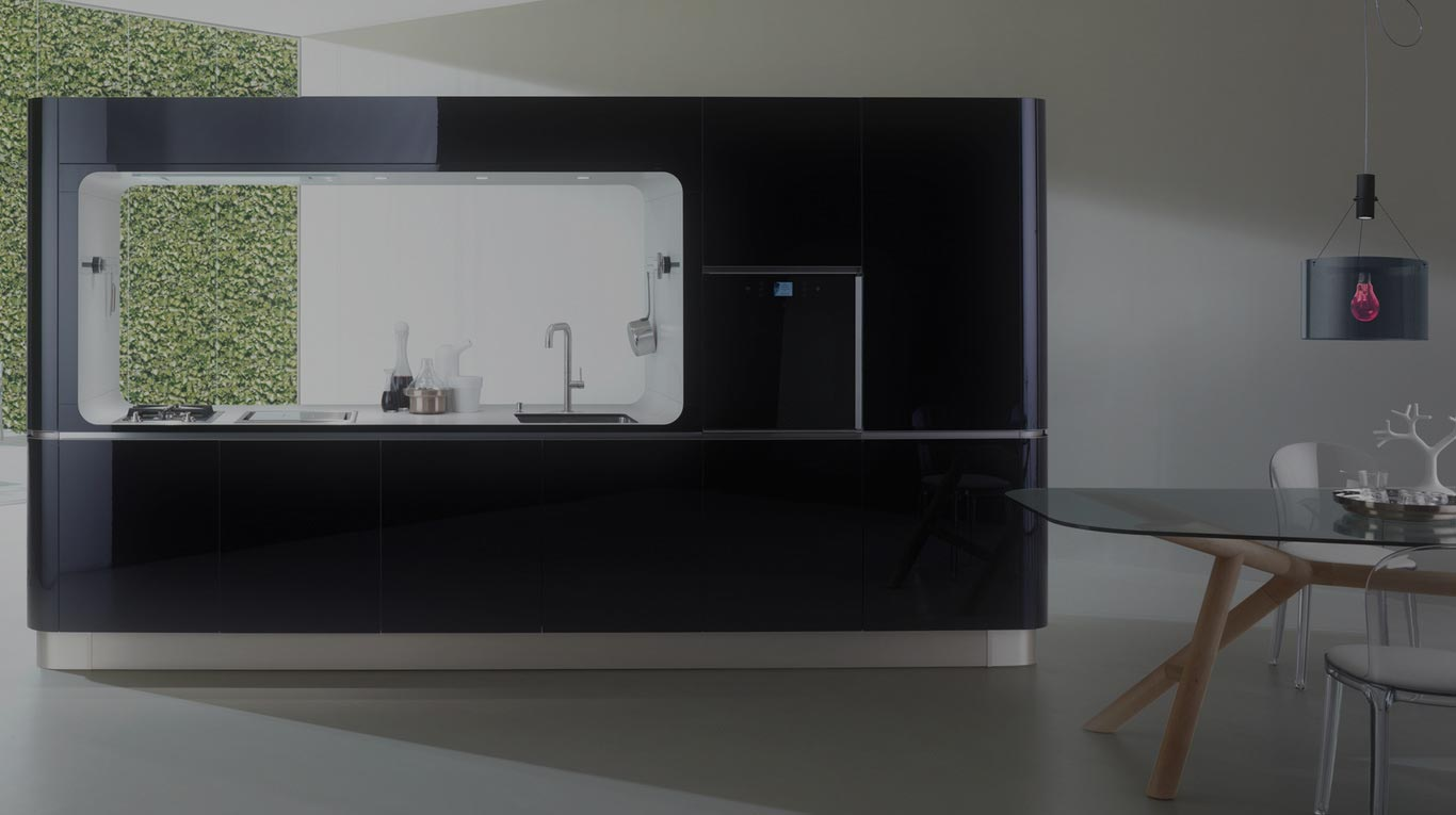Veneta Cucine - Kitchens - DesignCompatto Collection